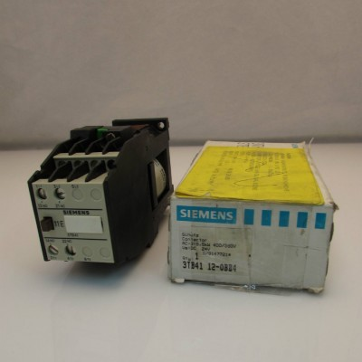Siemens Contacteur AC-3: 5.5kW 400/380v 24VDC