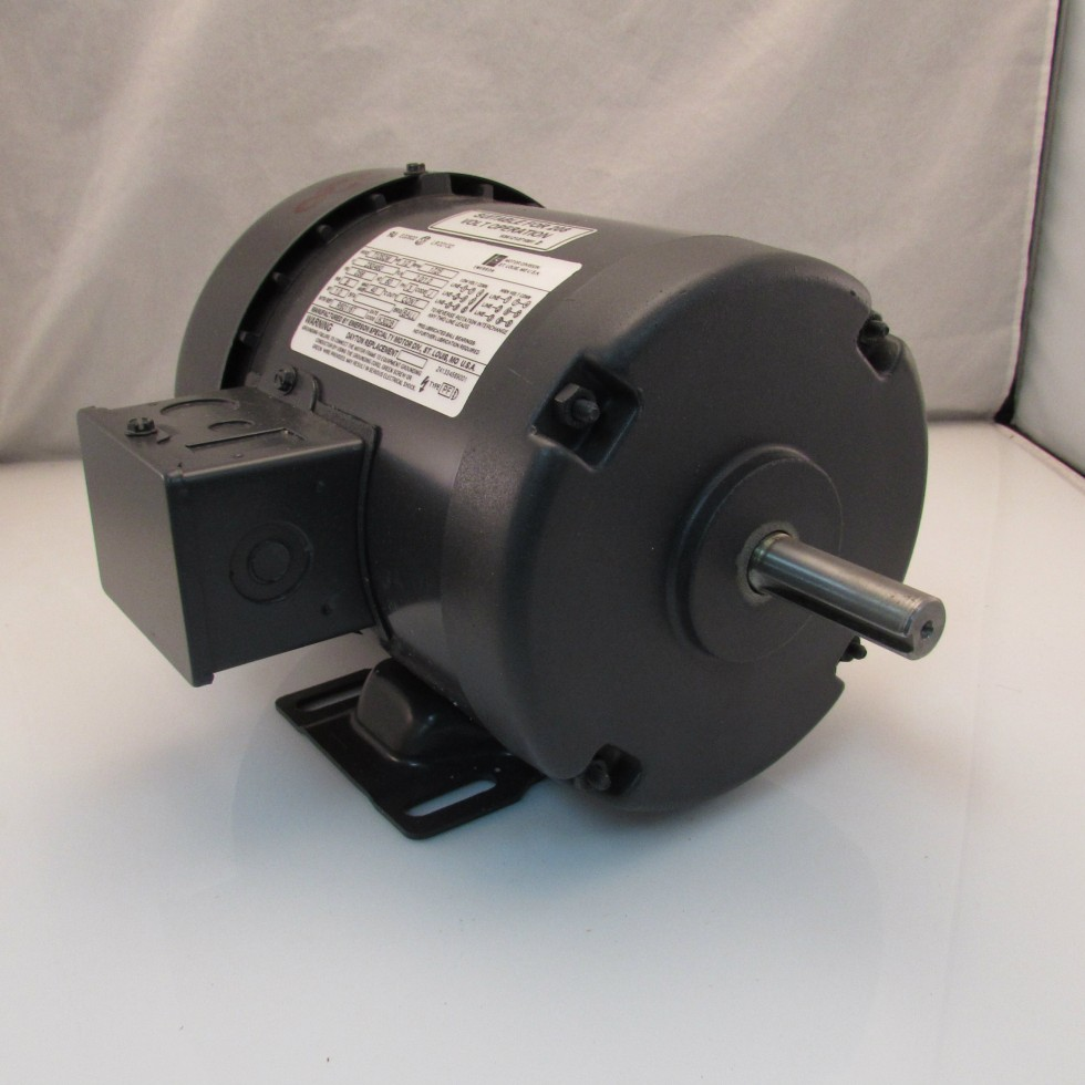Emerson 1 2 hp 1725 230 460 3ph electric motor for 1 2 hp ac motor