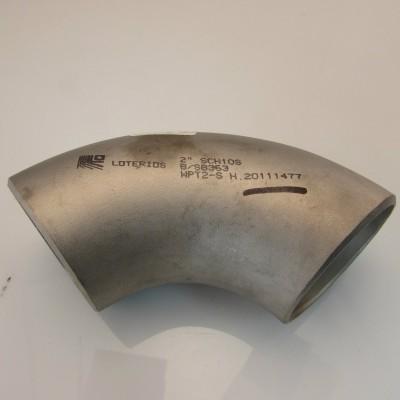 Coude 90deg. 2'' sch.10 Buttweld Titanium