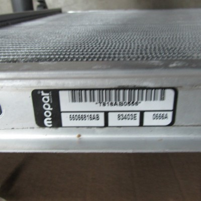 Radiator Mopar Ram 2004-2009 OEM# 55056816AB