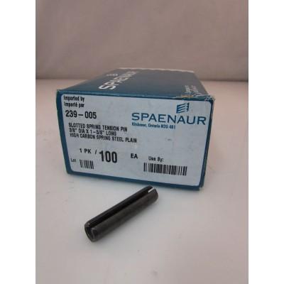 Spring Pin Spaenaur 3/8'' x 1 5/8'' box of 100