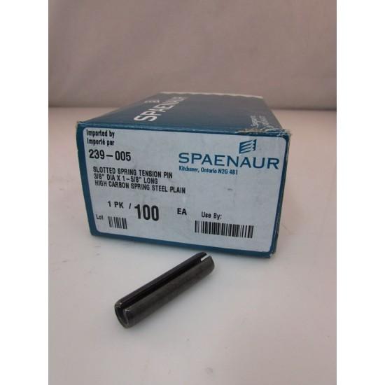 Spring Pin Spaenaur 3/8'' x 1 5/8'' boite de 100